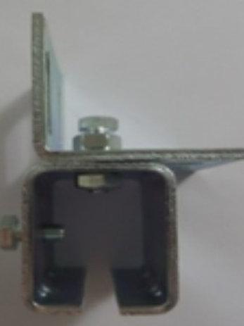 Verstelbare muurbevestigingsplaat voor geleider
