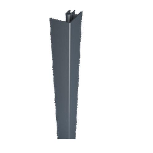 afwerkingsprofiel in gelakt aluminium voor eindafwerking