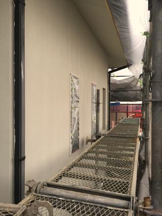 外壁の塗装替え