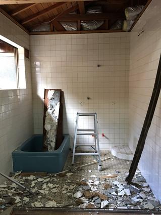 お風呂の改装工事