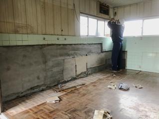 台所の改装