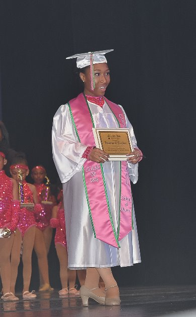 Graduate Diamond Tucker
