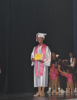 Graduate Alexis Burnside