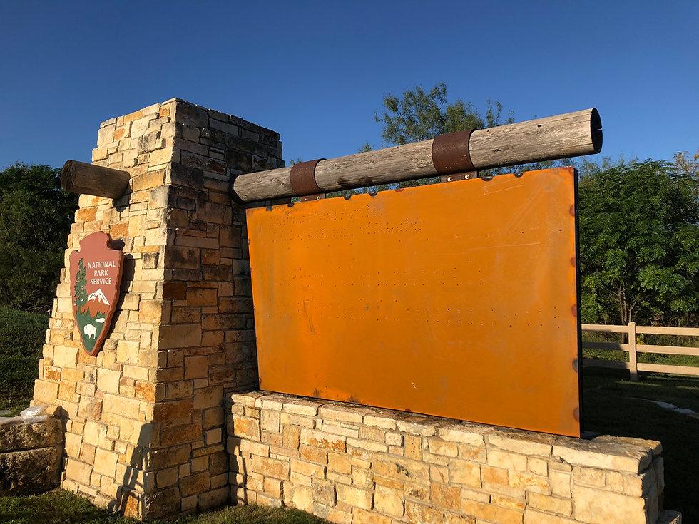 Waco Mammoth National Monument Signage