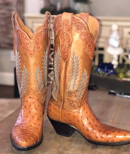 Ostrich Women's Boots