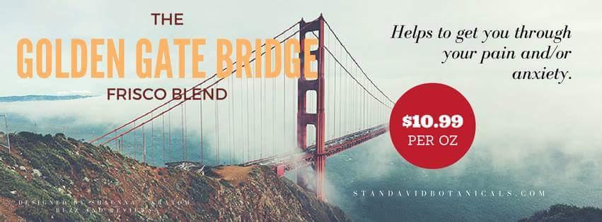 Enhanced  Golden Gate Bridge blend 1 oz