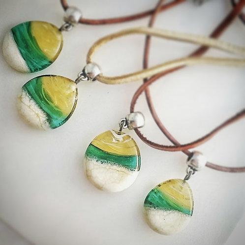Beachscape necklace