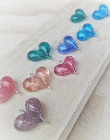 Memorial heart necklace