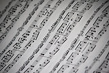 Sheet Music Close Up