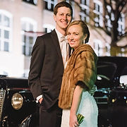bride and groom at south carolina state museum wedding