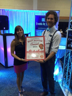 Bride City Shows Booth Award Events by Snow