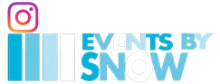 events by snow dj service logo