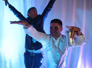 DJ Kevin Snow and Groom