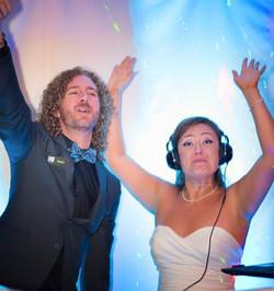 Kevin Snow with Bride