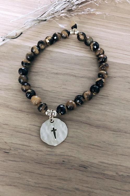Bracelet Oeil de tigre Divine & Sauvage