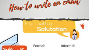 Business English: How to write an email