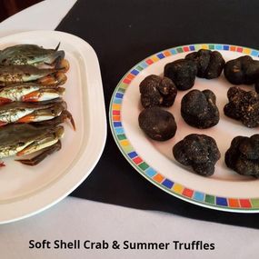 Soft Shell Crab and Summer Truffles
