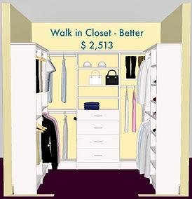 3D Design white master closet - Lake Charles, LA - ShelveIt