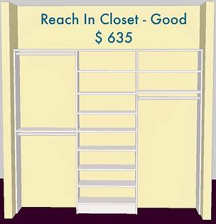 3D Reach in closet - Lake Charles, LA - ShelveIt