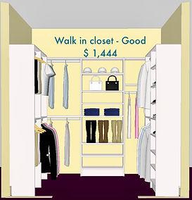 3D Walk in closet - Lake Charles, LA - ShelveIt