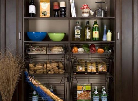 6 Storage Solutions For Your Pantry