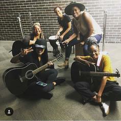 Sisterhood 💃🏾💖🎸 #girlsandguitars #sheplaystowin