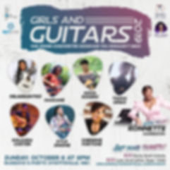Girls and Guitars Showcase 2019 11x11 fl