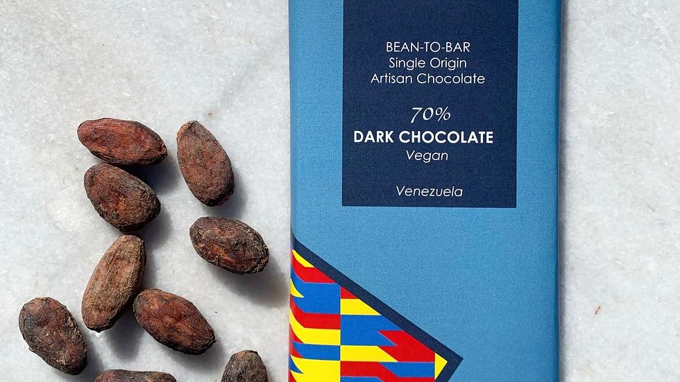 70% Dark Chocolate - Bean-to-bar   Venezuela  