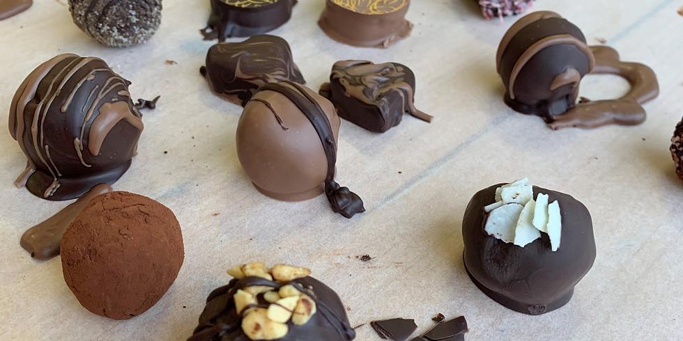 Chocolate Truffle Making