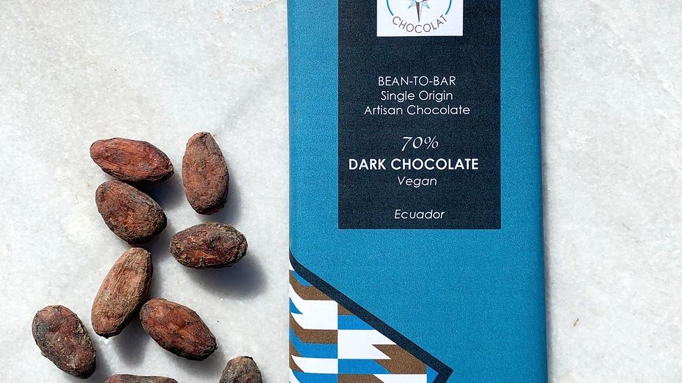 70% Dark Chocolate - Bean-to-bar | Ecuador |