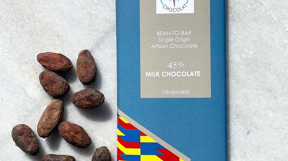 45% Milk Chocolate - Bean-to-bar   Venezuela  