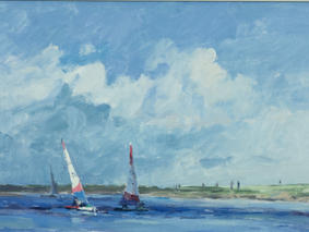 Sails at Burnham Overy Staithe