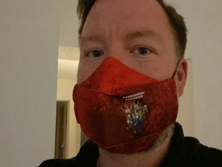 Maske und Schlauchschal im NZB Design