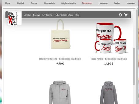 Der neue Online-Shop ist eröffnet!
