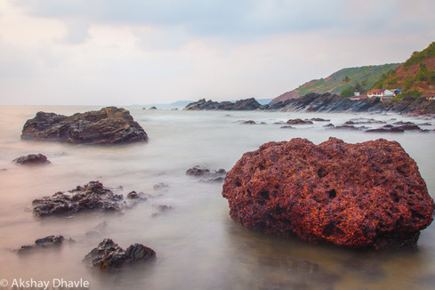 Red Rock at Sea