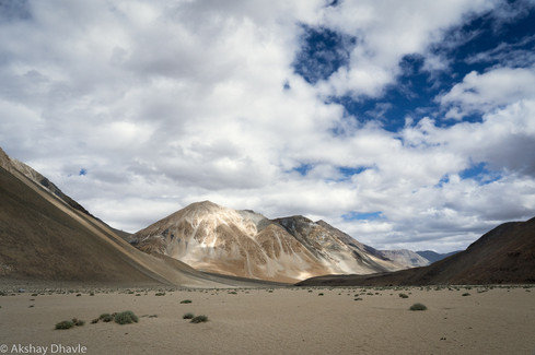 On the other side of Pangong