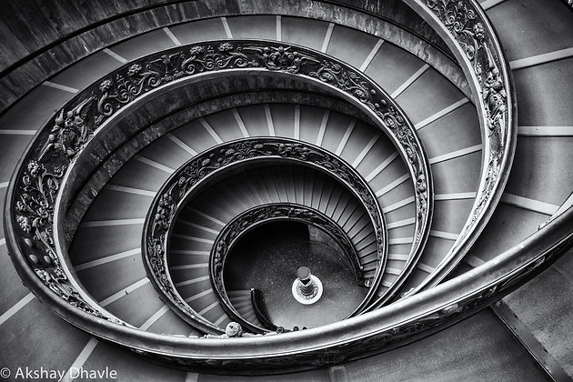 The Spiral Staircase - Vatican