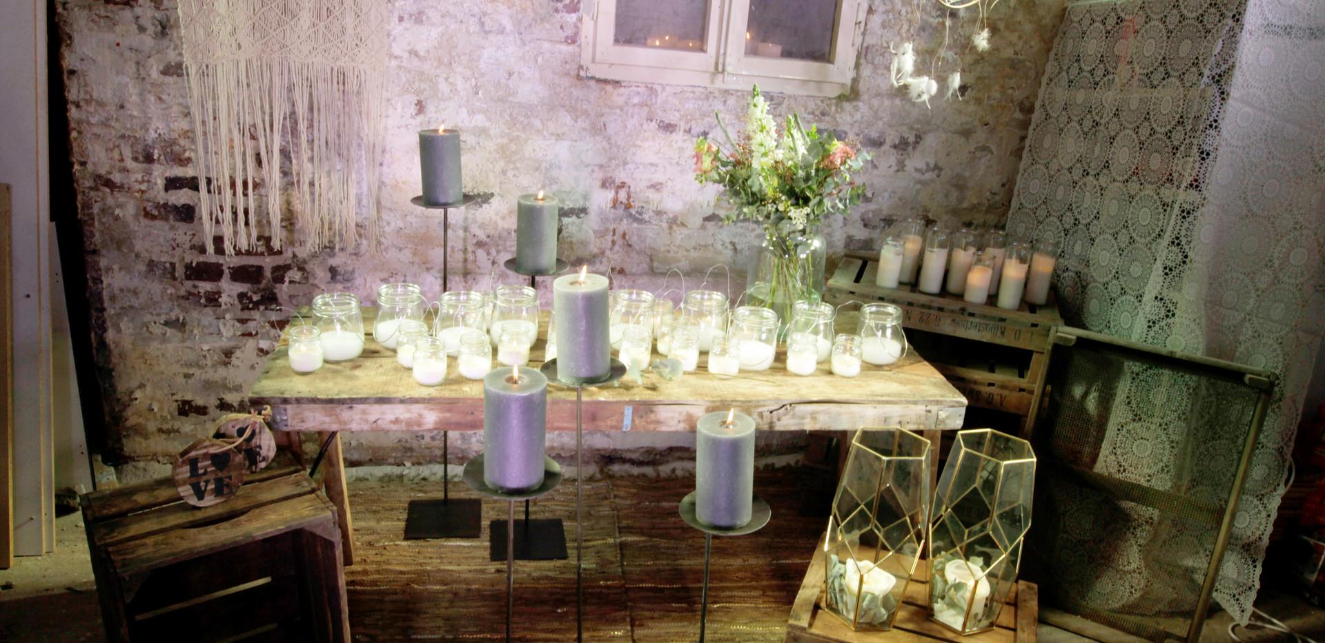 Kerzen gemischt