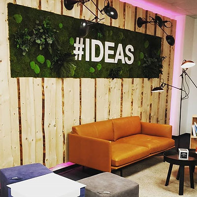 #Ideas_  Im neuen Innovation Room. _Endl
