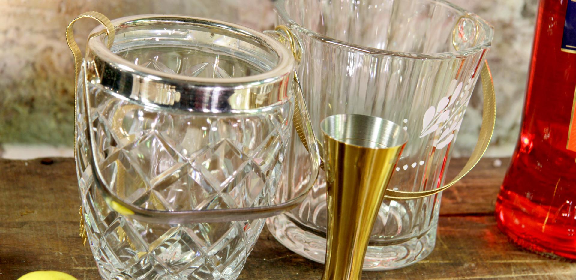 Eiskühler - Je Stk. 4,50 Euro - Barmaß gold - 1,50 Euro