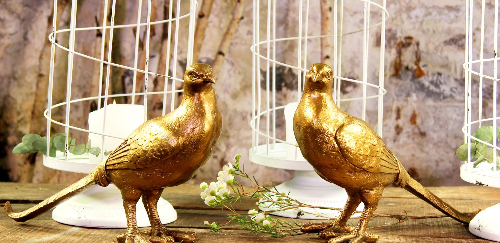 Goldene Vögel - Set 3,50 Euro