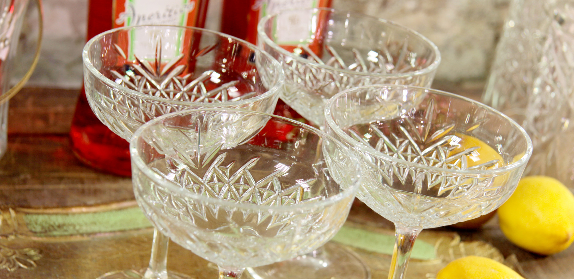 Champagner-Coupe