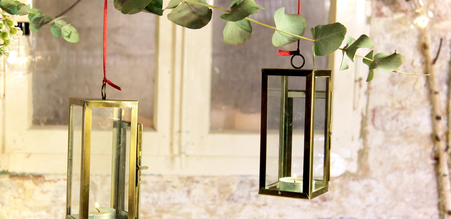 Windlicht gold-klein - Je Stk. 1,50 Euro