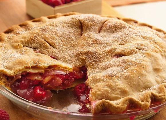 Apple and Raspberry Pie 10 inch