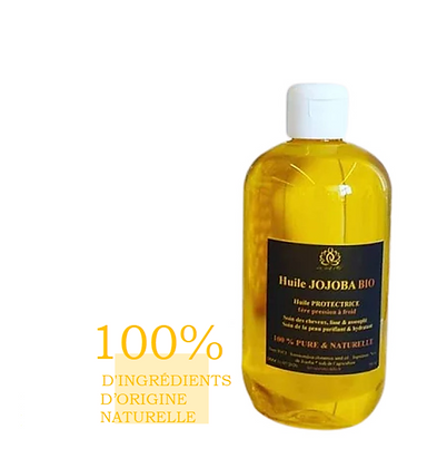 Mon Huile Pure Jojoba 100% BIO 100% Naturelle Fl/500mL