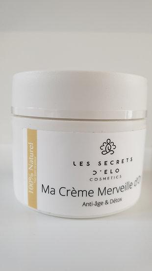 Ma Crème Anti-âge & détox  Merveille d'or 100 % naturel 50 ml