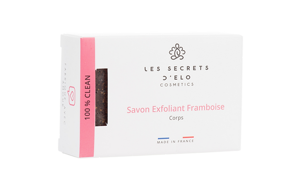 Savon Exfoliant Framboise