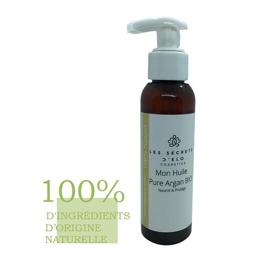 Mon Huile Pure Argan BIO 100% Naturelle 100 ml