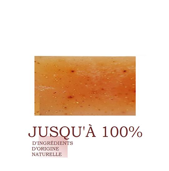 Mon savon exfoliant naturel framboise &  raisin