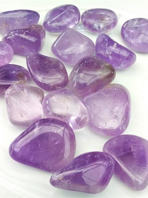 Amethyst Tumbled Stone